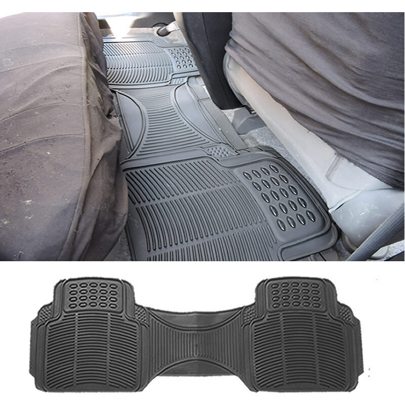 1pc Car Black Rubber Utility Runner Rear Floor Mat Ebay