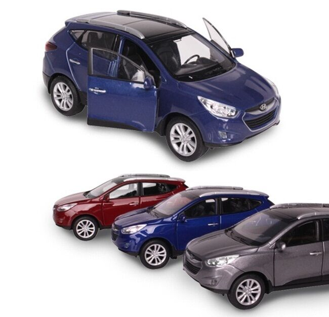 hyundai brandcollection tucson ix35 diecast model 1 38 mini car toy ebay. Black Bedroom Furniture Sets. Home Design Ideas