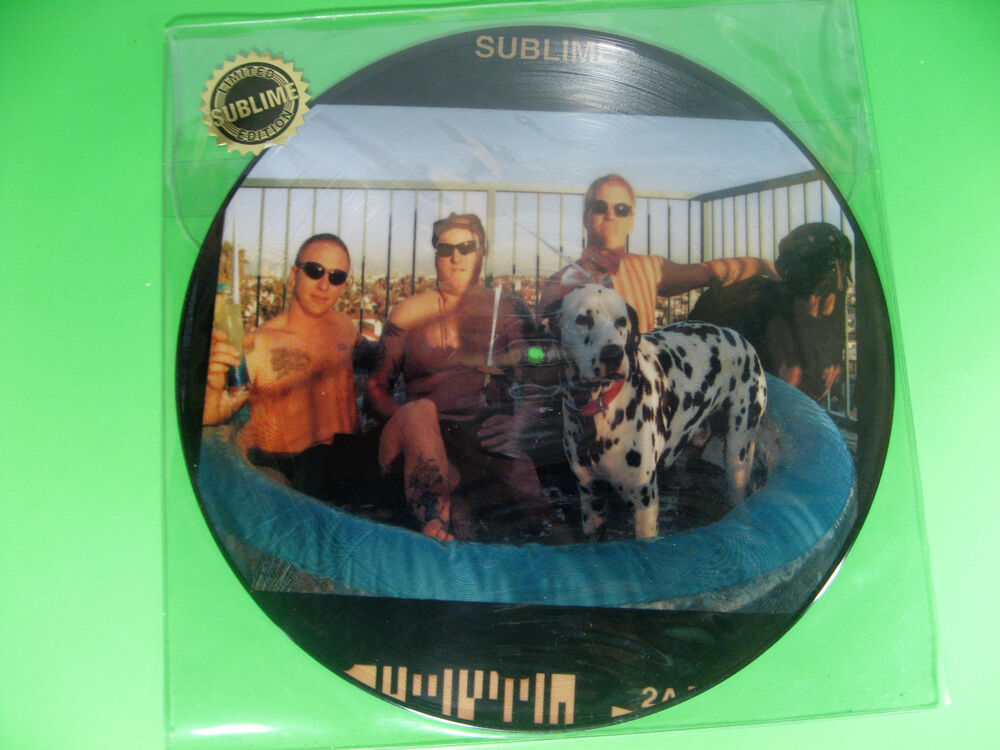 Rare Sublime Self Titled Limited Edition Picture Vinyl