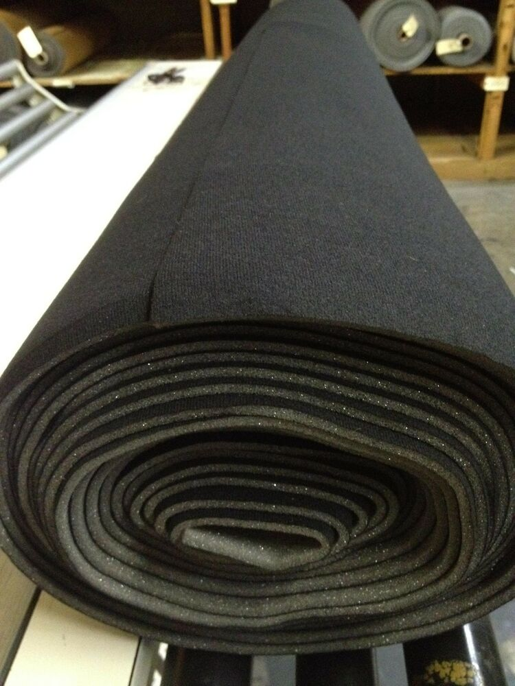 auto headliner upholstery fabric kit with glue 90 x 60 black free shipping ebay. Black Bedroom Furniture Sets. Home Design Ideas