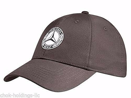Genuine mercedes benz cap hat baseball brown cotton check for Mercedes benz hats sale