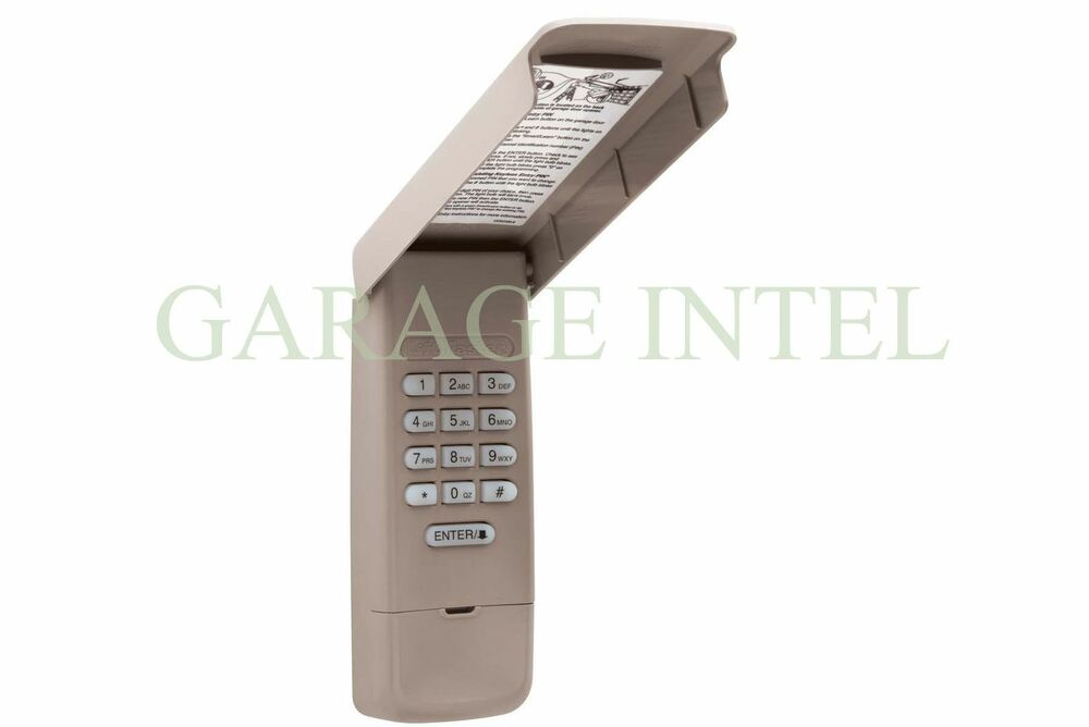 Craftsman 139 3050 Compatible Keyless Entry Garage Door