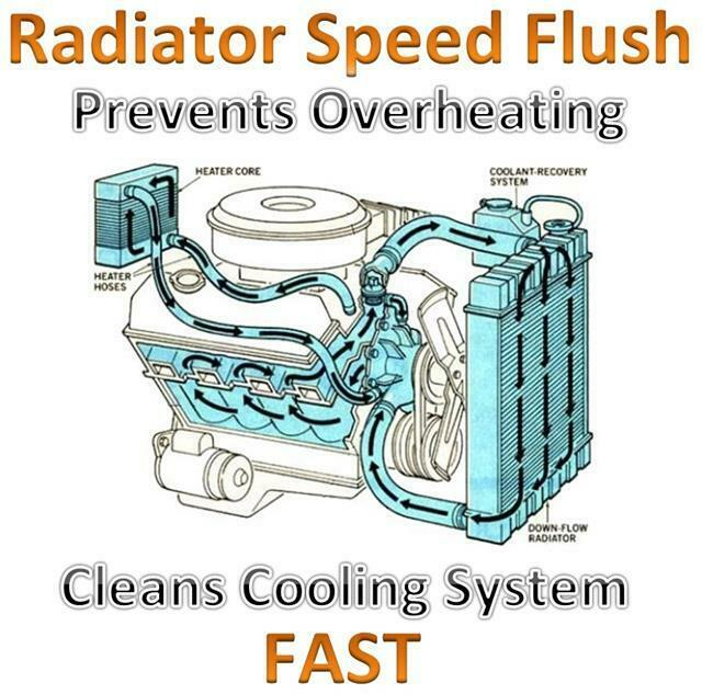Holts Radiator Overheat Cooling System Heater Matrix Cleaner Flusher ...