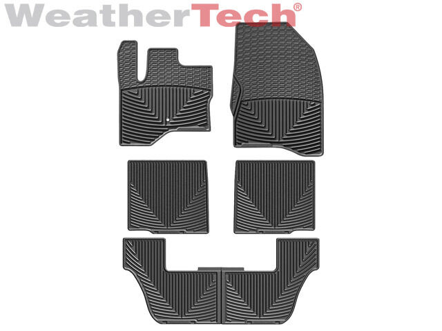 Toyota Camry All Weather Floor Mats WeatherTech® All-Weather Floor Mats - Ford Flex - 2009-2010 - Black ...