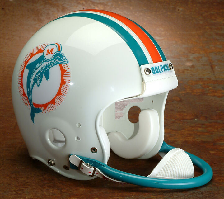 "Offer Up Los Angeles >> MIAMI DOLPHINS Football Helmet FRONT ""DOLPHINS"" Decal 