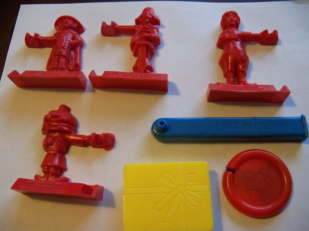 Vintage 1980 And 1981 Burger King Happy Meal Toys Robot