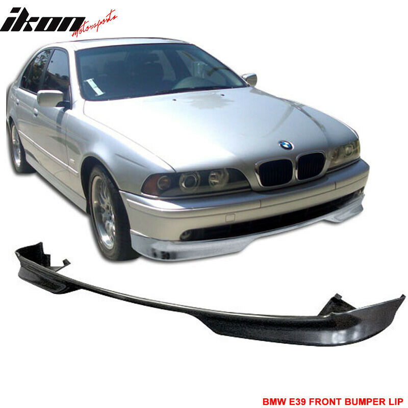 97 00 bmw e39 5 series front bumper lip spoiler bodykit. Black Bedroom Furniture Sets. Home Design Ideas