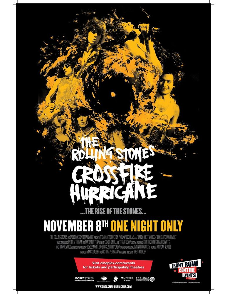 The Rolling Stones High Quality Concert Poster Looks