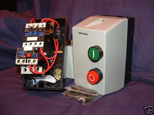 DOL Single Phase Motor Starter c w Overload of Choice