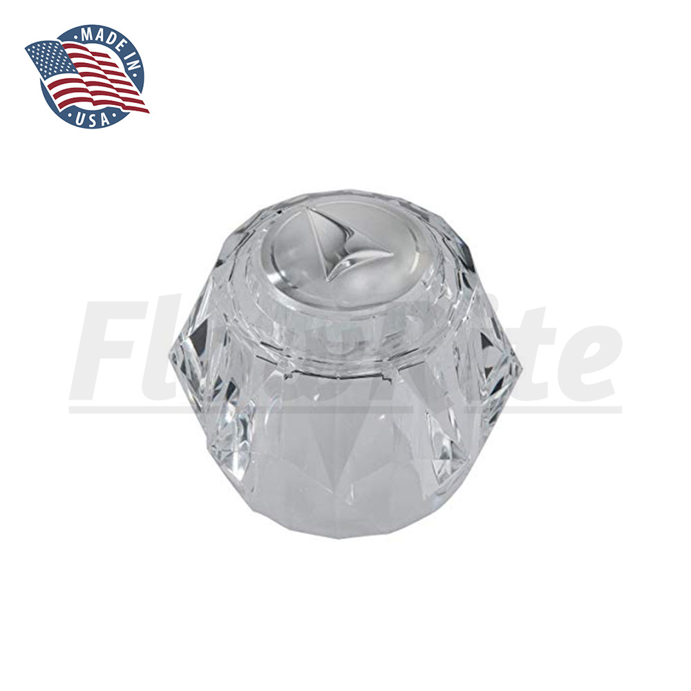 Replacement Acrylic Knob For Delta Rp2392 Single Handle