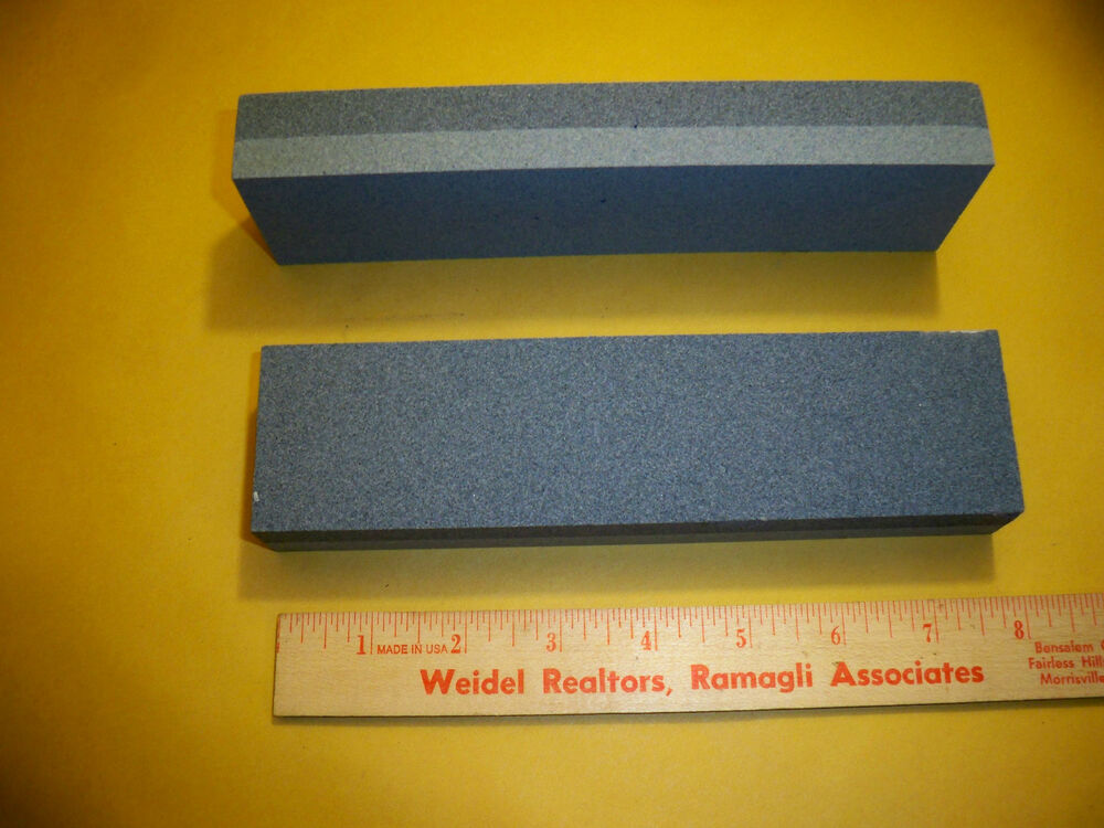 how to clean aluminum oxide sharpening stone