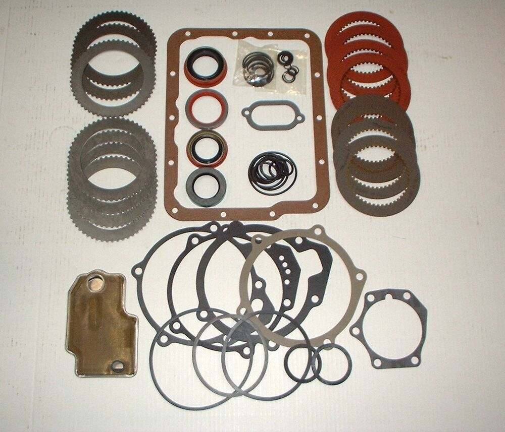 Flightomatic Borg Warner 8 Automatic Transmission Overhaul Kit 1956-1966 |  eBay