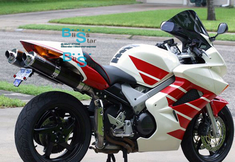 White Glossy ABS Fairing With Tank Cover Fit HONDA VFR800 ...