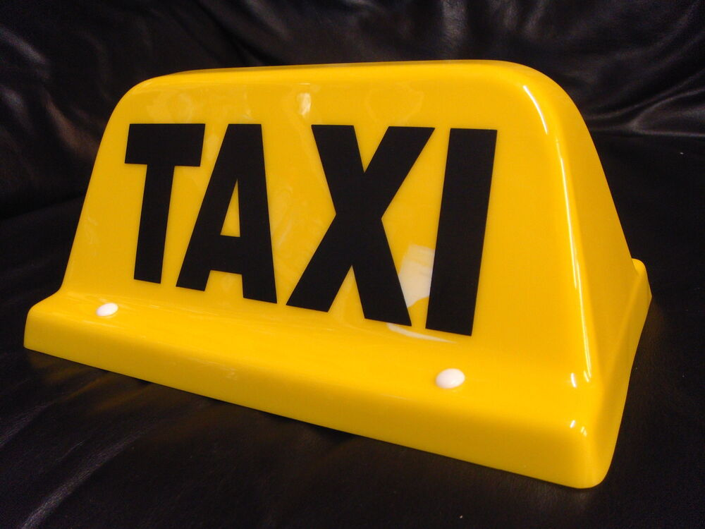 Taxi Meters Purchase : Taxi roof sign led yellow mini meter taximeter