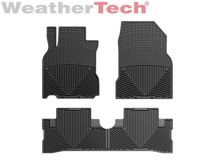 Weathertech All Weather Floor Mats For Nissan Cube 2009