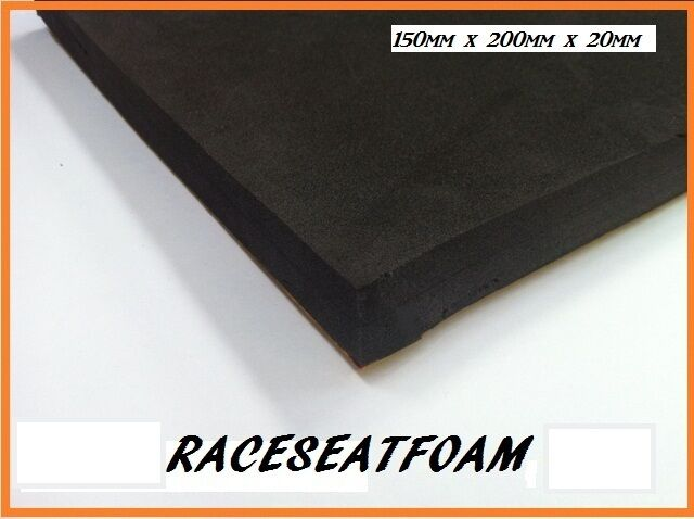 Motorcycle Race Seat Foam Bum Stop Pad 20mm Thick Self