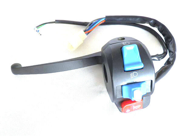 Light Duty Lever Controls : Scooter moped left light switch control wires w brake