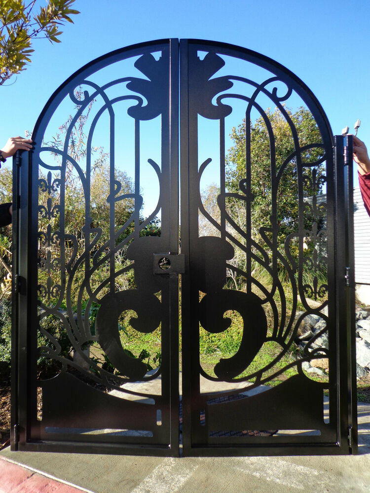 Contemporary metal gate on sale decorative ornamental