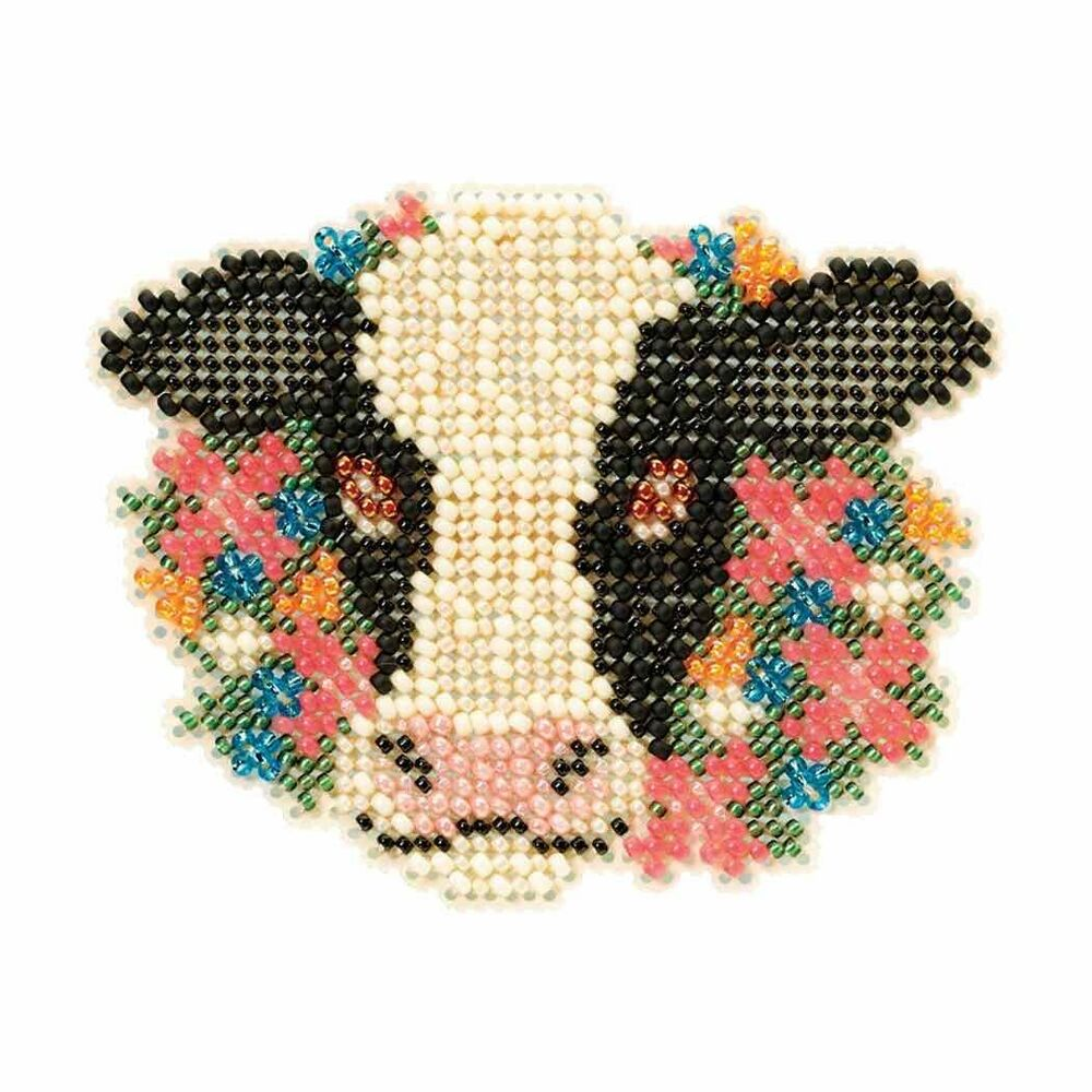 elsie beaded cross stitch kit mill hill 2013
