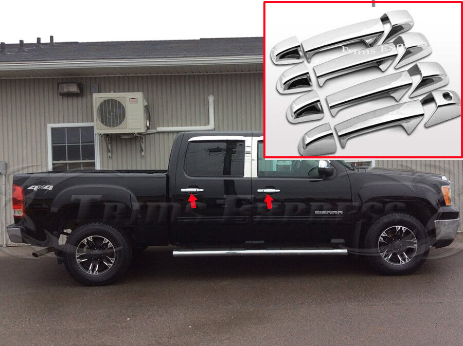 Chevy chrome door handle covers car interior design for 2007 chevy silverado interior door handle