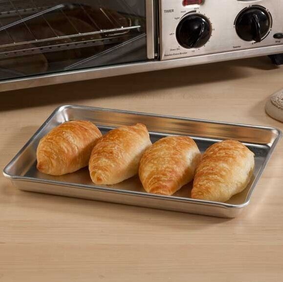 Countertop Oven Bakeware : Toaster Oven Baking Pan, Smaller Size Pan, For Use On Toaster Ovens ...