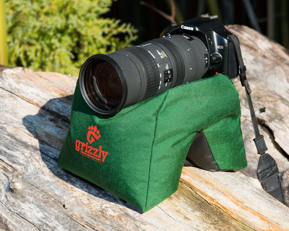 Grizzly Bean Bag Lg Green Camera Video Photography