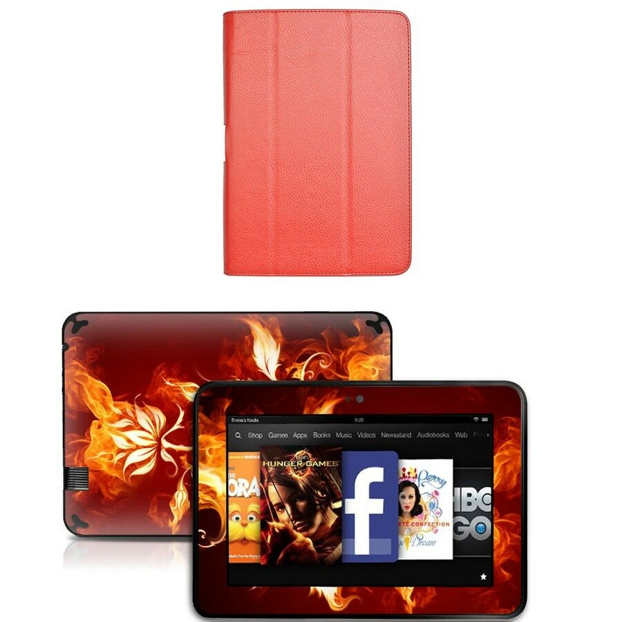 Genuine leather case cover for amazon kindle fire hd 8 9 for Amazon casa