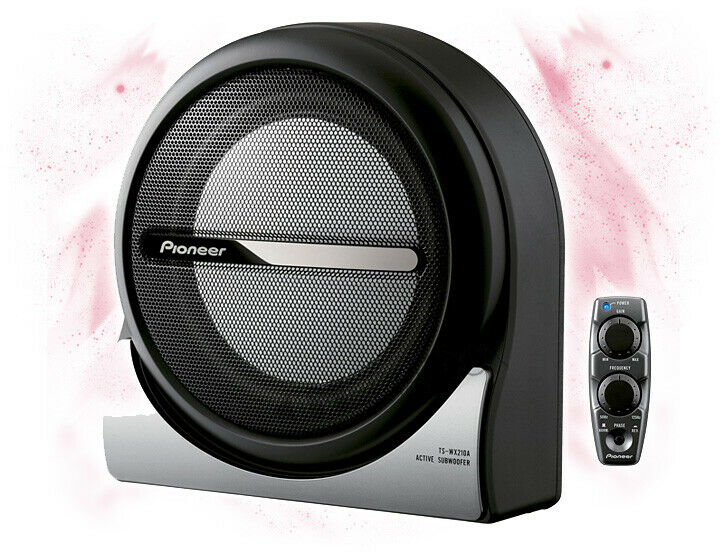 pioneer ts wx210a 20cm 200mm car activ underseat boombox. Black Bedroom Furniture Sets. Home Design Ideas