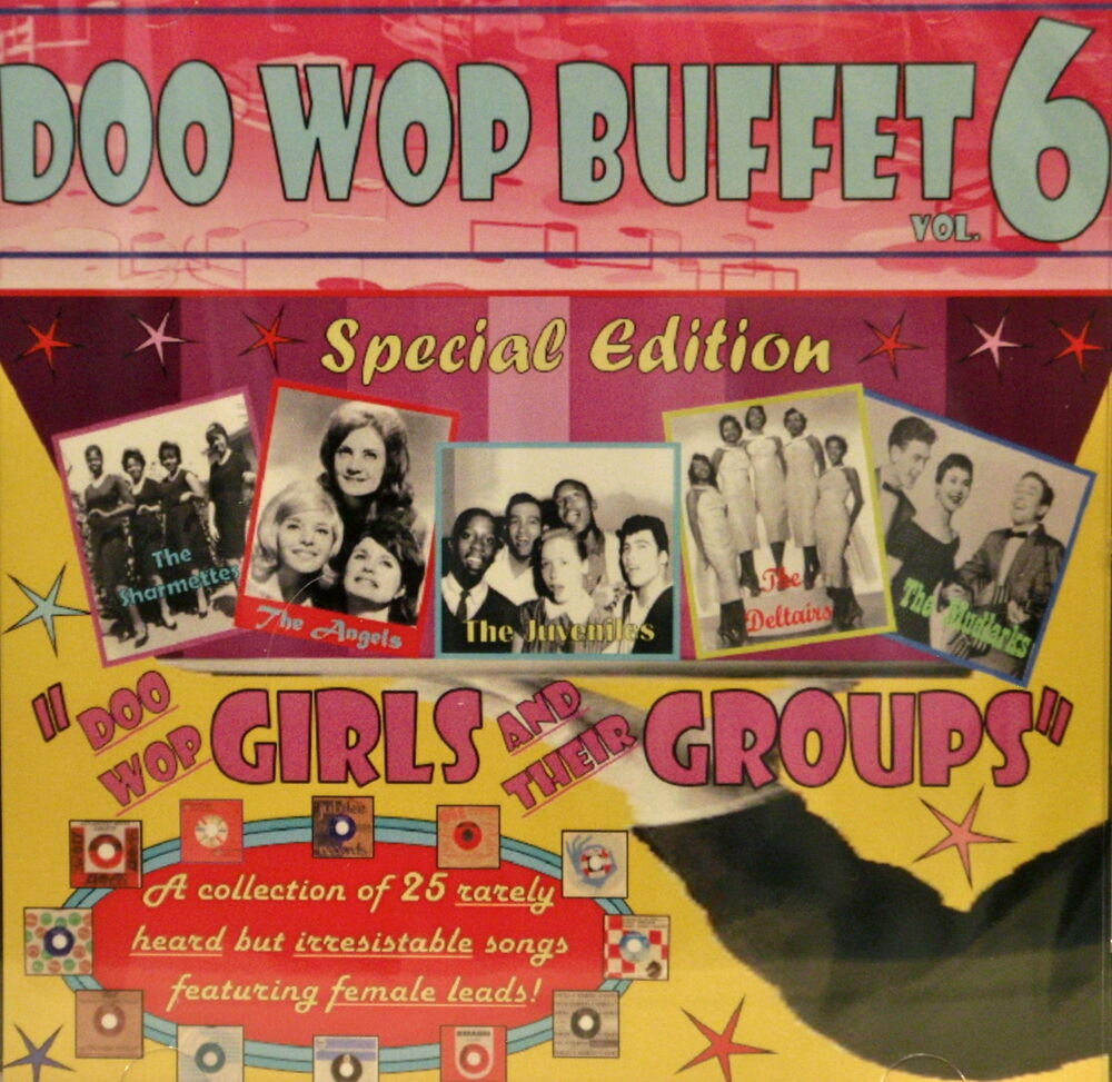 doo wop buffet volume 6 special edition 25 va tracks 609465980089 ebay. Black Bedroom Furniture Sets. Home Design Ideas