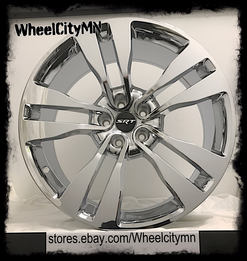 20 inch chrome dodge charger srt factory oe replica rims magnum challenger 5x115 ebay. Black Bedroom Furniture Sets. Home Design Ideas
