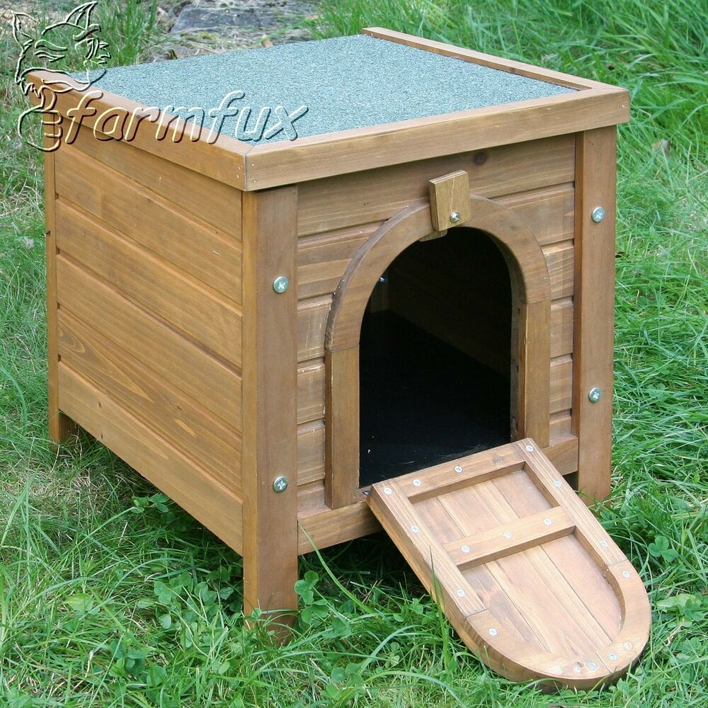 hundehaus outdoor hundeh tte f r kleine hunde h tte hund wetterfest 36x36x40 cm ebay. Black Bedroom Furniture Sets. Home Design Ideas