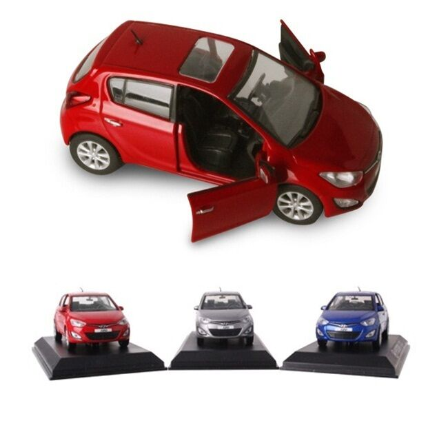 hyundai brandcollection i20 diecast model car 1 38 mini car toy ebay. Black Bedroom Furniture Sets. Home Design Ideas