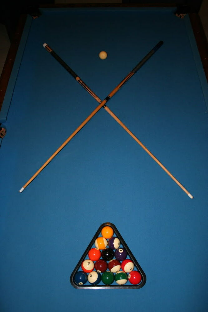 8u0027 FOOT SLATE BILLIARD POOL TABLE 70s Oversize Rare Socal Vintage  Professional