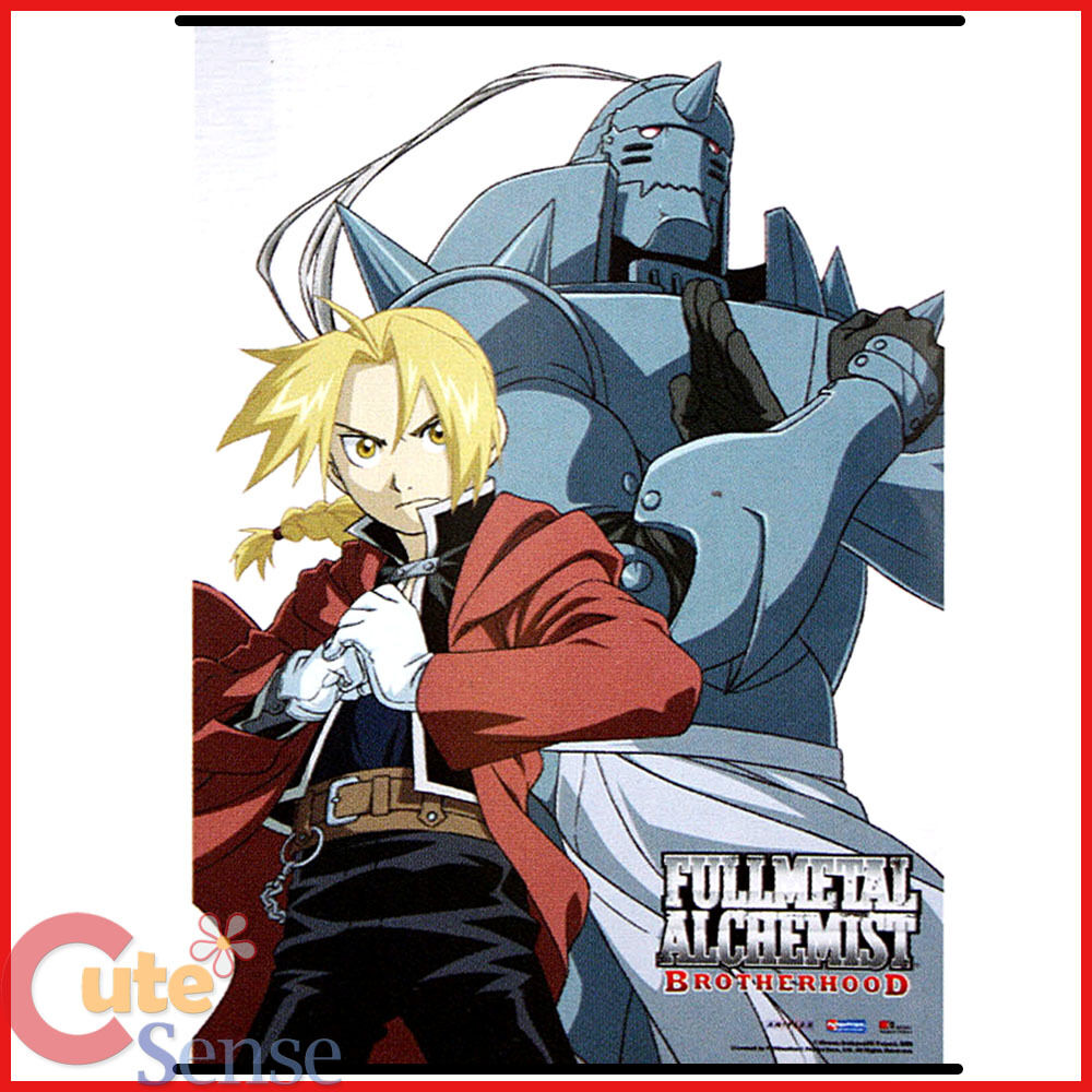 Fullmetal Alchemist Brotherwood Wall Scroll Edward Elric