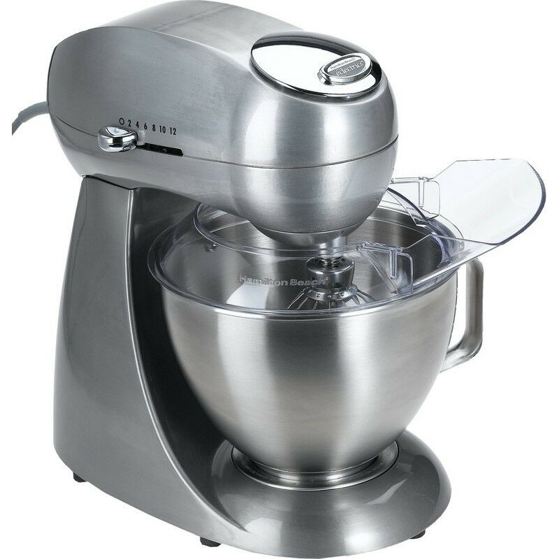 Electric Mixing Bowl ~ Hamilton beach all metal speed electric stand mixer