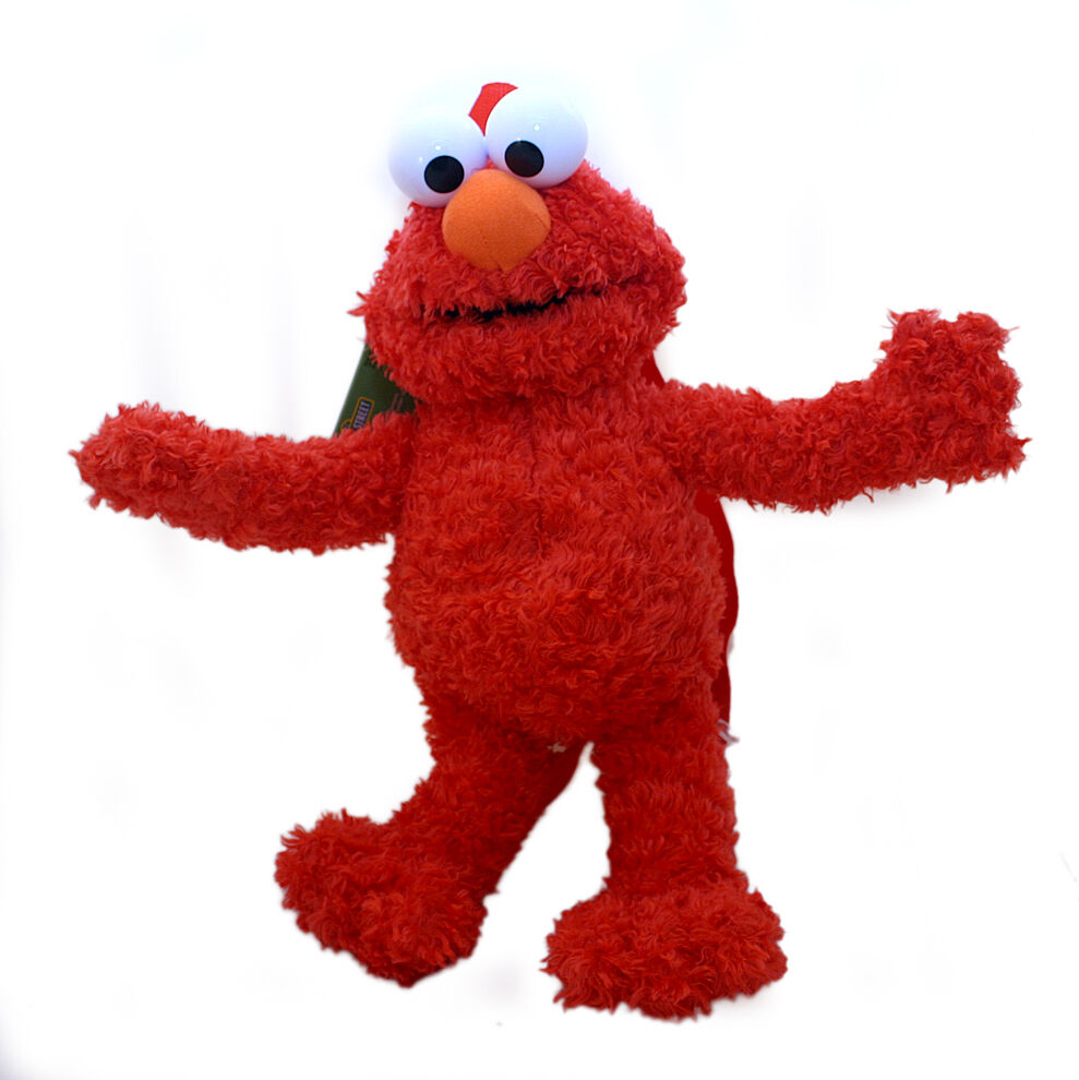 Sesame Street Elmo Toys : Sesame street elmo plush doll backpack soft toy custume