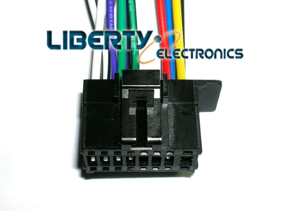 new 16 pin wiring wire harness for pioneer deh