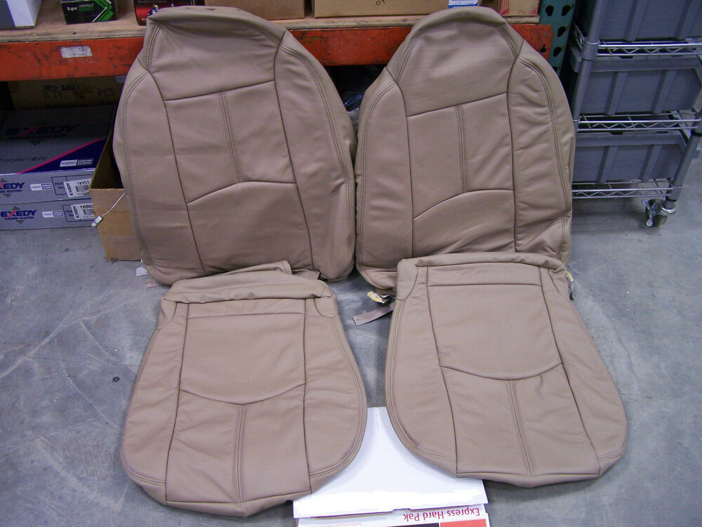 2001 Mazda Tribute Leather Seat Cover Set Color Nutmeg