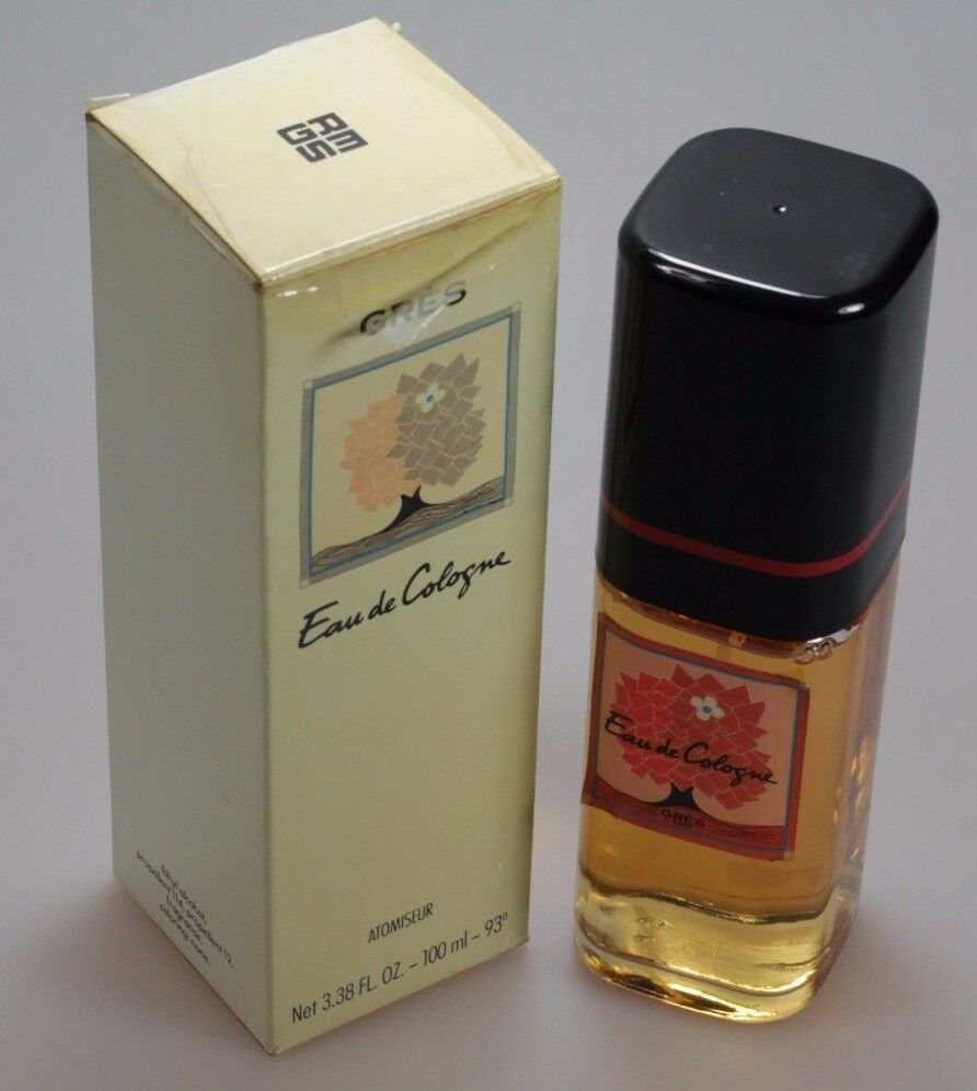 gr s gres 100 ml eau de cologne spray vintage ebay. Black Bedroom Furniture Sets. Home Design Ideas