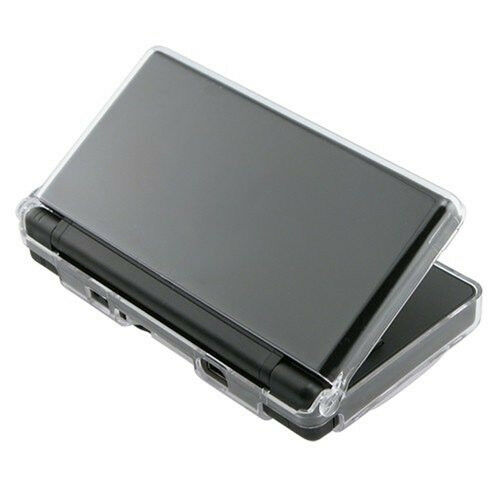 ds lite clear crystal case hard cover skin brand new ebay. Black Bedroom Furniture Sets. Home Design Ideas