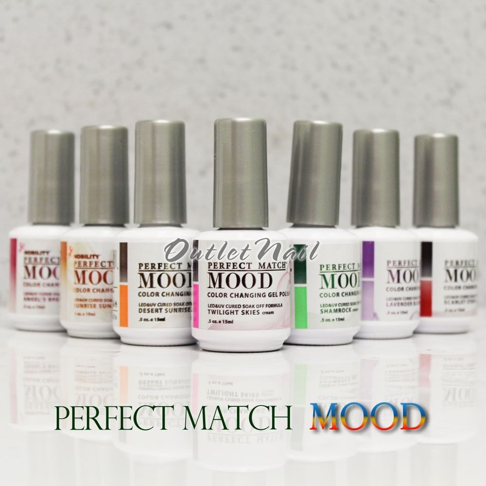 LeChat Perfect Match MOOD 01 - 60 Color Changing Gel Polish ...