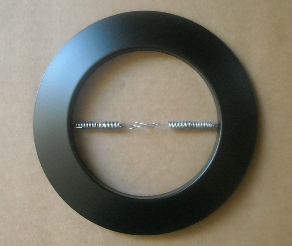 6 Quot Inch Recessed Can Light 401p Open Trim Ring R40 Par38