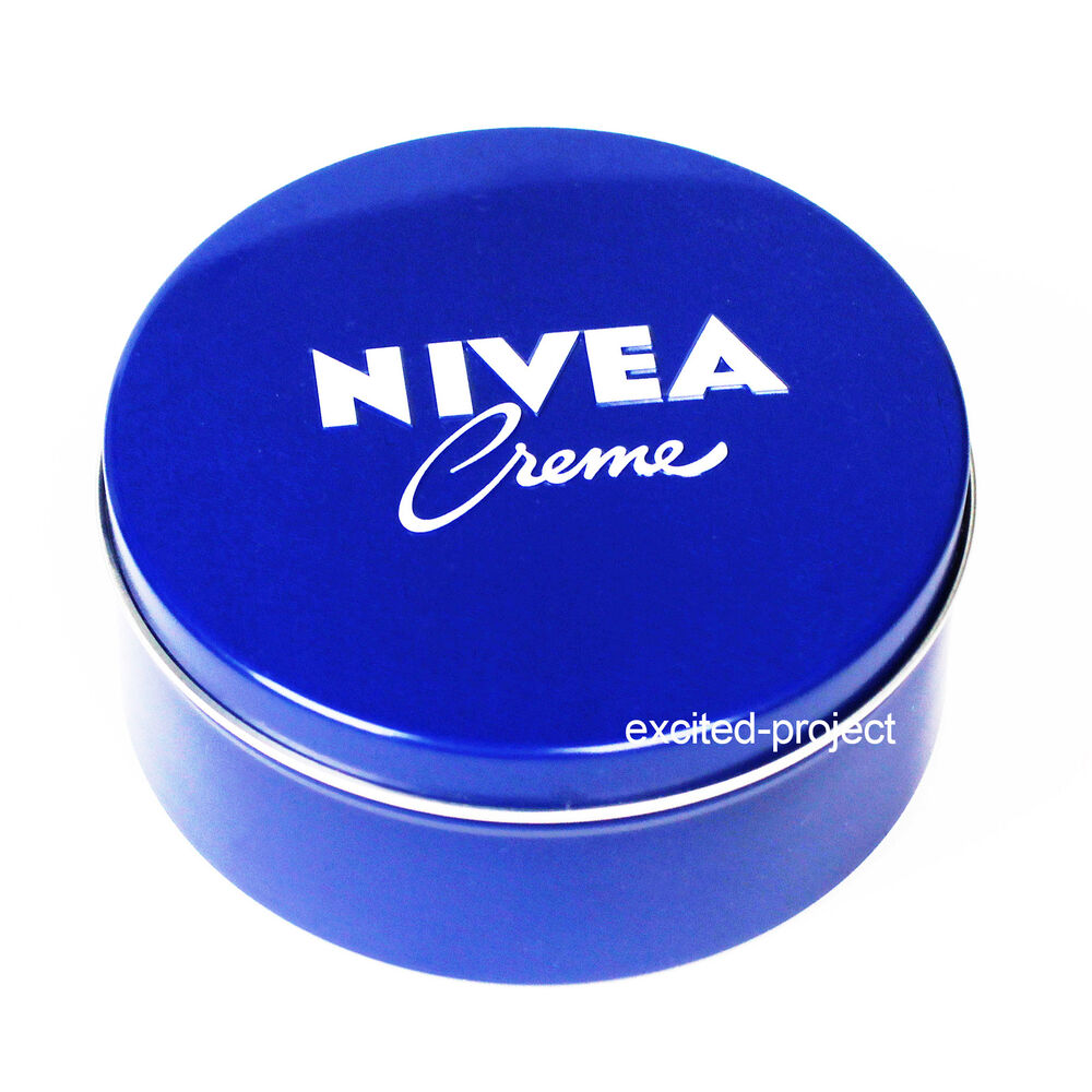 REAL Original German NIVEA Skin Hand Cream In Big Blue Tin - 250ml/8.45 fl oz  | eBay