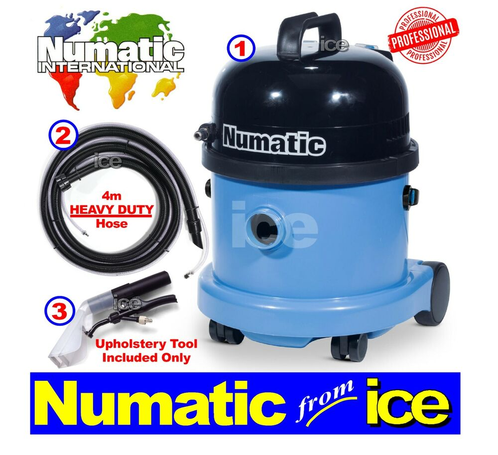 Numatic Commercial Car Valeting Carpet & Upholstery ...
