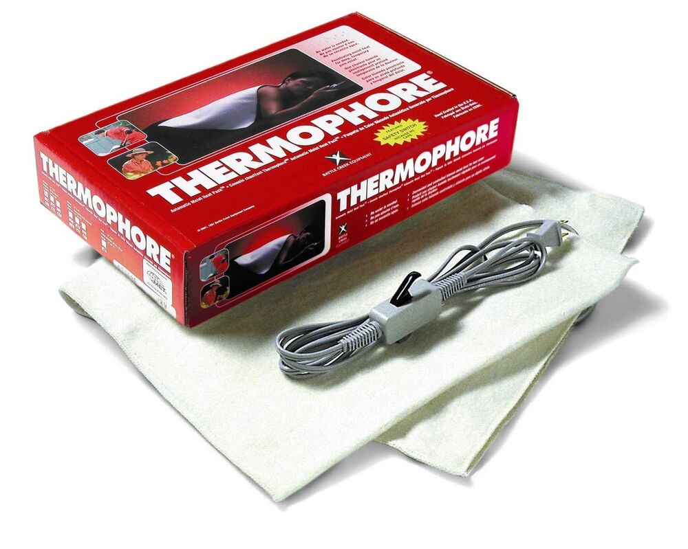 Thermophore automatic moist heat heating pack pad 14x27 for 14x27 window