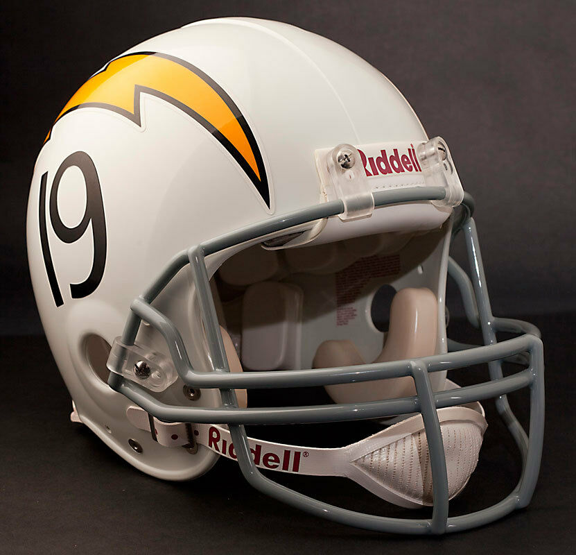 San Diego Chargers Facts: SAN DIEGO CHARGERS 1961-1973 Riddell AUTHENTIC Throwback