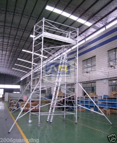 Aluminum Scaffold Tower : Aluminium mobile scaffold tower w scaffolding platform