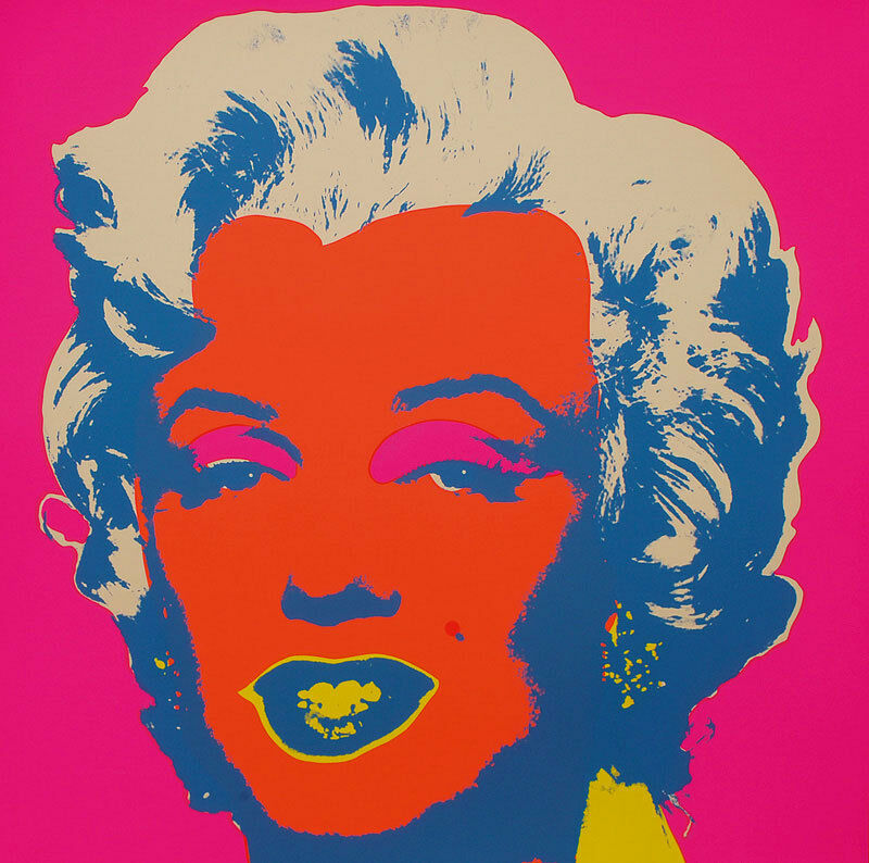 andy warhol marilyn monroe 22 screenprint by sunday b morning ebay. Black Bedroom Furniture Sets. Home Design Ideas