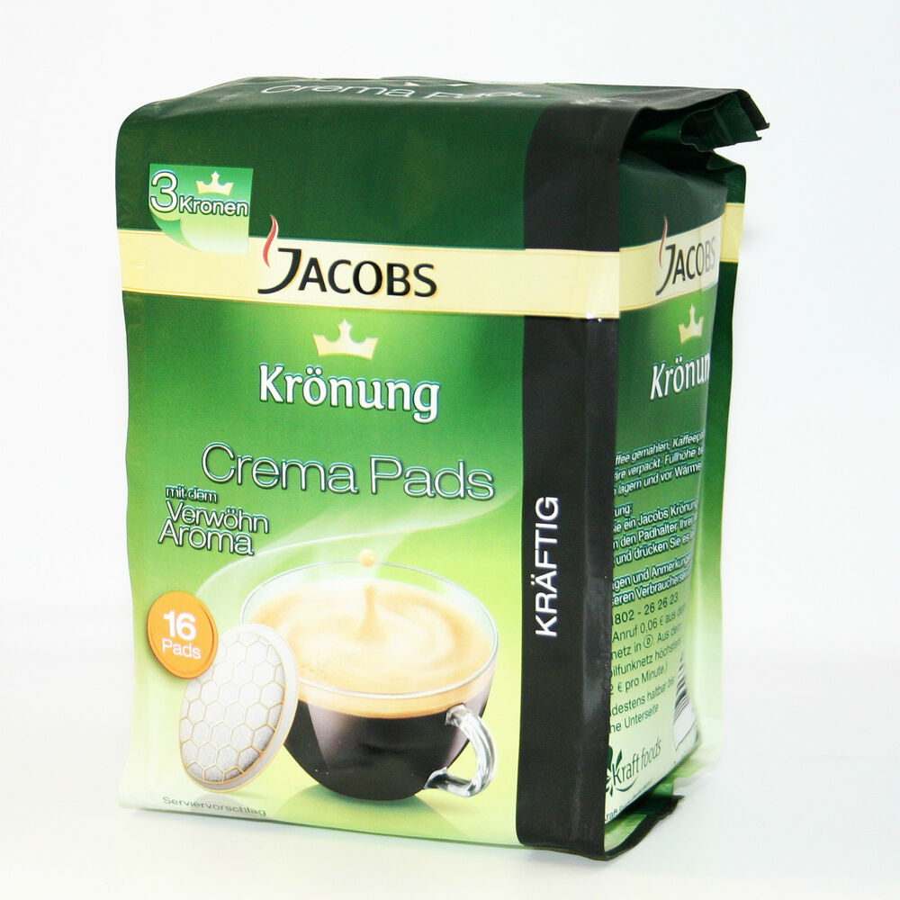 Original German Jacobs Kronung Coffee Pods - Pods For Senseo Coffee Makers eBay