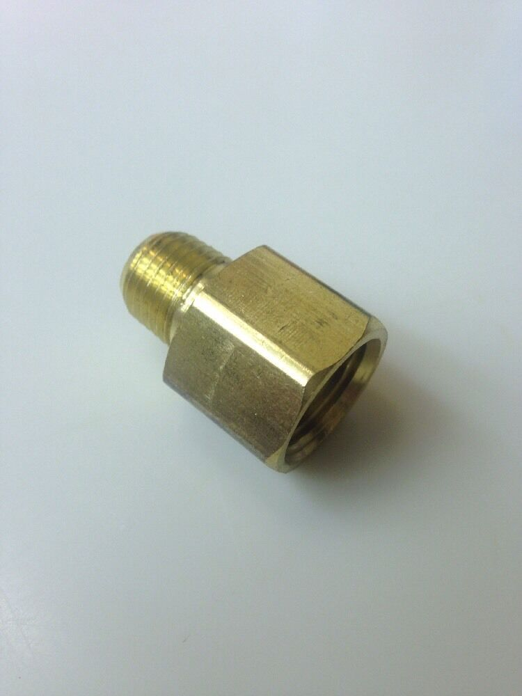 Brass pipe quot female male adapter extender